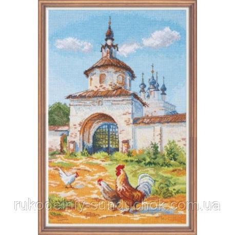 """Набор для вышивки крестом ТМ Овен """"Суздальский петушок"""" 972"""