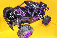 Скоростная Багги Черная Пантера на радиоуправлении джип-внедорожник металло-пластик, фото 1