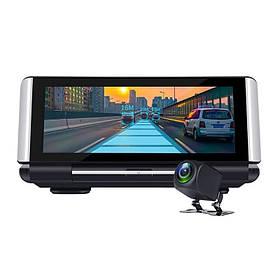 Видеорегистратор на Торпеду DVR K6 - 3 в 1 Android - Регистратор -GPS Навигатор + Камера Заднего Вида