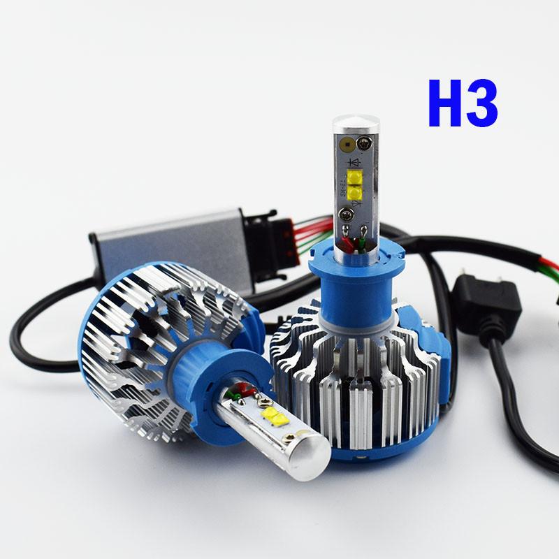 Turbo Led лампы T1-H3  (Автомобильные)