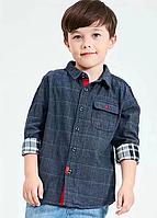 Стильні сорочки для хлопчиків / Детские рубашки для мальчиков, модный дизайн, европейский и американский стиль 5Т