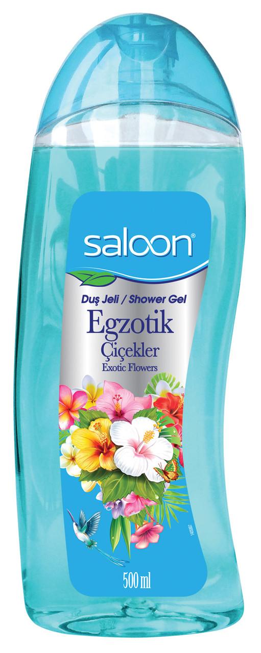 Гель для душа «Экзотические цветы» Saloon 500 мл.