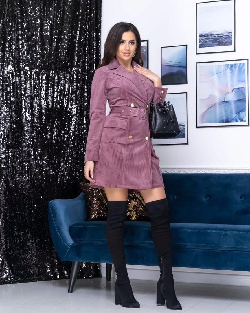 Стильный модный платье-пиджак. Отличное качество!3 расцв. 44-50р.