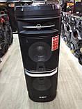 Портативна акустика TS210-05 /250W 2 мікрофона LED підсвічування (USB/FM/Bluetooth/Пульт ДУ), фото 9