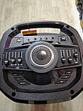Портативна акустика TS210-05 /250W 2 мікрофона LED підсвічування (USB/FM/Bluetooth/Пульт ДУ), фото 7