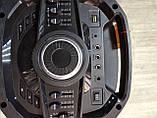 Портативна акустика TS210-05 /250W 2 мікрофона LED підсвічування (USB/FM/Bluetooth/Пульт ДУ), фото 8