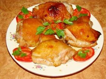 Куриные стейки с соевым соусом