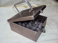 Пенал-лоток  для транспортировки сыворотки с крышкой