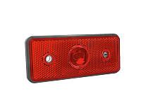 Задний габаритный фонарь красный со световозвращателем