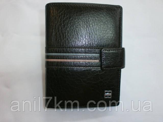 Чоловічий шкіряний гаманець фірми CEFIRO для грошей і документів