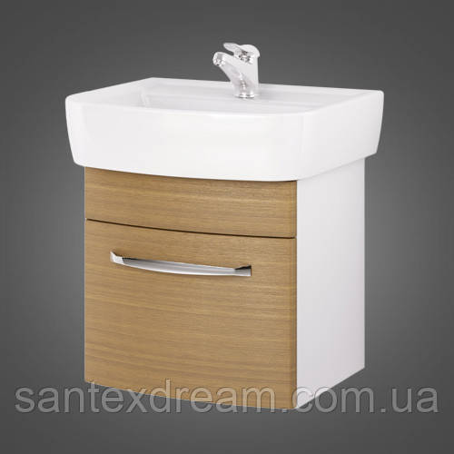 Шкаф под умывальник Cersanit Pure 61x43x40