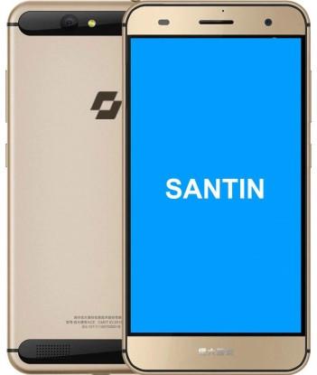 "Смартфон Santin Actoma Ace 2/32GB Gold, 13/5Мп, 8 ядер, 1sim, экран 5.5"" IPS, 2920mAh, 4G (LTE)"