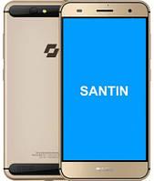 "Смартфон Santin Actoma Ace 2/32GB Gold, 13/5Мп, 8 ядер, 1sim, экран 5.5"" IPS, 2920mAh, 4G (LTE), фото 1"