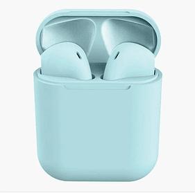 Беспроводные наушники Stereo Bluetooth Headset AirPods i11 TWS Голубые