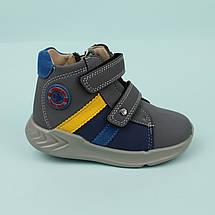 Детские ботинки на мальчика, демисезонная обувь тм Tom.m размер 23,24, фото 3