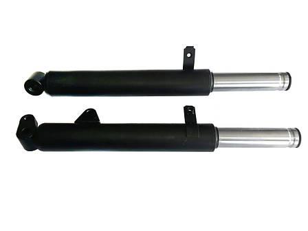 Вилка (амортизаторы, перья) HONDA DIO AF-28/AF-25/AF-35 ( длина 37см,шток 27мм) Mototech, фото 2