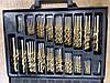 Набор сверл LEX LXC1700 : Титан 1.0-10.0 мм 170 шт в кейсе, фото 6