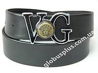 Ремень женский кожаный VOG, ширина 40 мм. 930326