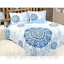 Комплект постельного белья из сатина евро размер TM Irya Tile