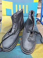 Ботинки рабочие, 41 размер, кожа+керза, производитель Украина, Лубны.