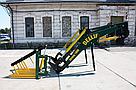 Усиленный погрузчик фронтальный кун Dellif Strong 1800 с сенажными вилами, фото 2