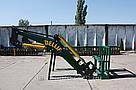 Усиленный погрузчик фронтальный кун Dellif Strong 1800 с сенажными вилами, фото 3