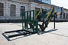 Усиленный погрузчик фронтальный кун Dellif Strong 1800 с сенажными вилами, фото 5