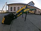 Усиленный погрузчик фронтальный кун Dellif Strong 1800 с сенажными вилами, фото 8
