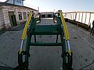 Усиленный погрузчик фронтальный кун Dellif Strong 1800 с сенажными вилами, фото 9