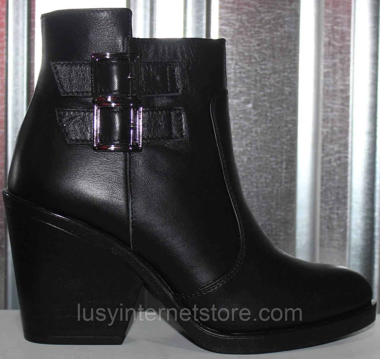 Ботинки женские демисезонные кожаные от производителя модель РИ80-10-2Д