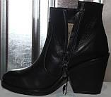 Ботинки женские демисезонные кожаные от производителя модель РИ80-10-2Д, фото 4