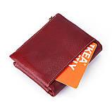 Гаманець шкіряний чоловічий. Портмоне гаманець з натуральної шкіри (коричневий), фото 4