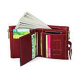 Гаманець шкіряний чоловічий. Портмоне гаманець з натуральної шкіри (коричневий), фото 8