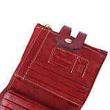 Гаманець шкіряний чоловічий. Портмоне гаманець з натуральної шкіри (коричневий), фото 9