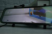 """Зеркало-видеорегистратор 10"""" DVR L900 full hd с выносной камерой заднего вида+ПОДАРОК!, фото 2"""