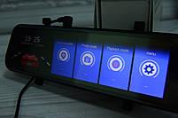 """Зеркало-видеорегистратор 10"""" DVR L900 full hd с выносной камерой заднего вида+ПОДАРОК!, фото 3"""