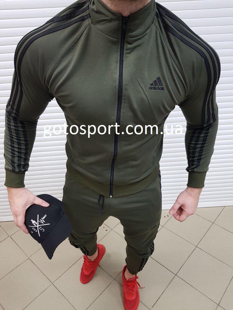 Мужской спортивный костюм Adidas Men Haki