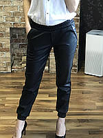 Кожаные брюки женские из эко-кожи 288, фото 1