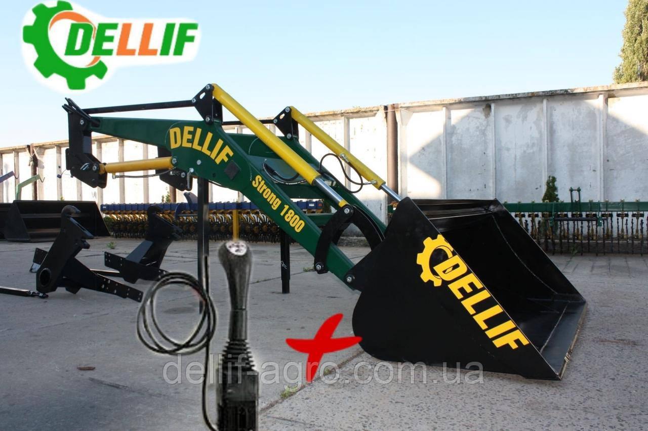 Кун на трактор МТЗ, ЮМЗ, Т 40 фронтальный Dellif Strong 1800 c джойстиком