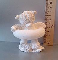 Гипсовая фигурка для раскрашивания статуэтка. Гіпсова фігурка для розмальовування. Мишка с кругом