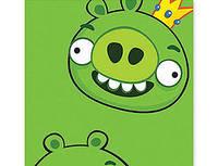Скатерть Angry Birds бумажная  1,4х2,6м/