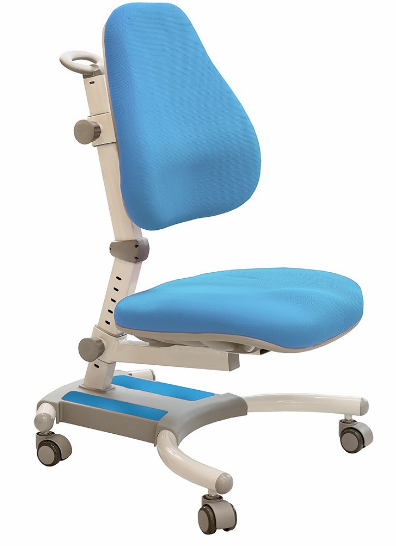 Кресло Evo-kids Omega (арт.Y-220 KBL) обивка голубая однотонная