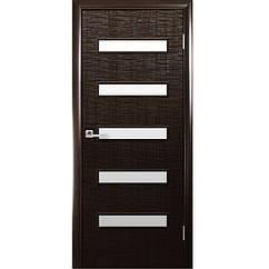 Двери межкомнатные Фортис De Luxe САХАРА 5S (Венге)