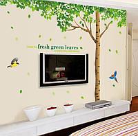 Интерьерная наклейка на стену Дерево (AY306)