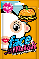 Маска Для Лица С Экстрактом Тыквы Bling Pop Pumpkin Soothing & Brightening Mask, 20 Мл