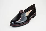 Туфли лаковые Geronea 4590812 черные
