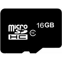 Карта памяти micro SDHC 16Gb