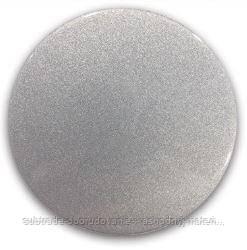 Магнит КРУГ БОЛЬШОЙ (серебро)