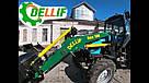 Погрузчик на трактор  МТЗ ЮМЗ Т 40 Dellif Base 1600 с захватом для тюков, фото 4