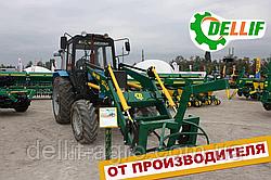Погрузчик на трактор МТЗ ЮМЗ Т 40 Dellif Base 1600 с крюком под биг бег